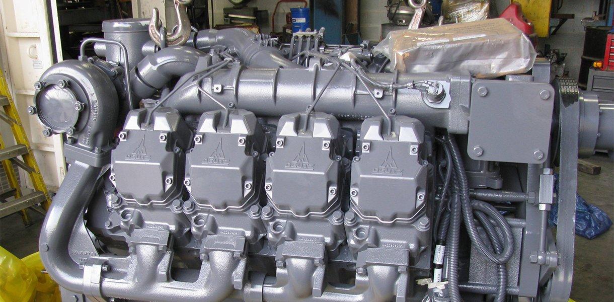 A brand new Deutz engine