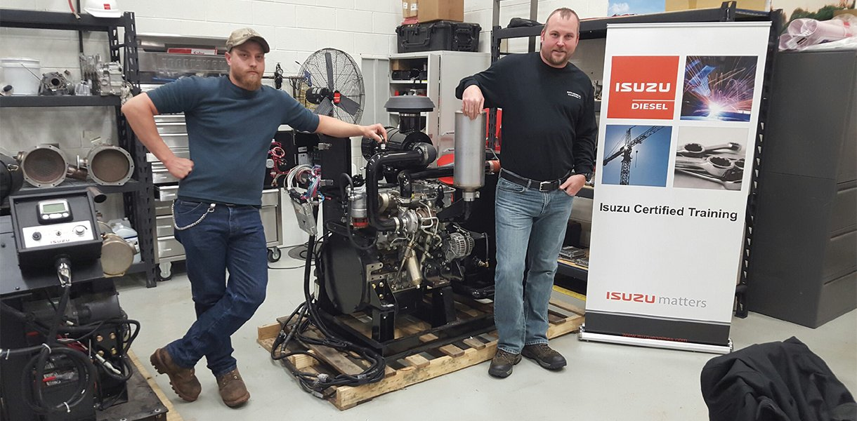 Tier 4 Certified Technicians ready for your gas or diesel engine repair