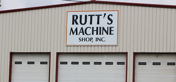 Rutt's Machine Inc. Exterior