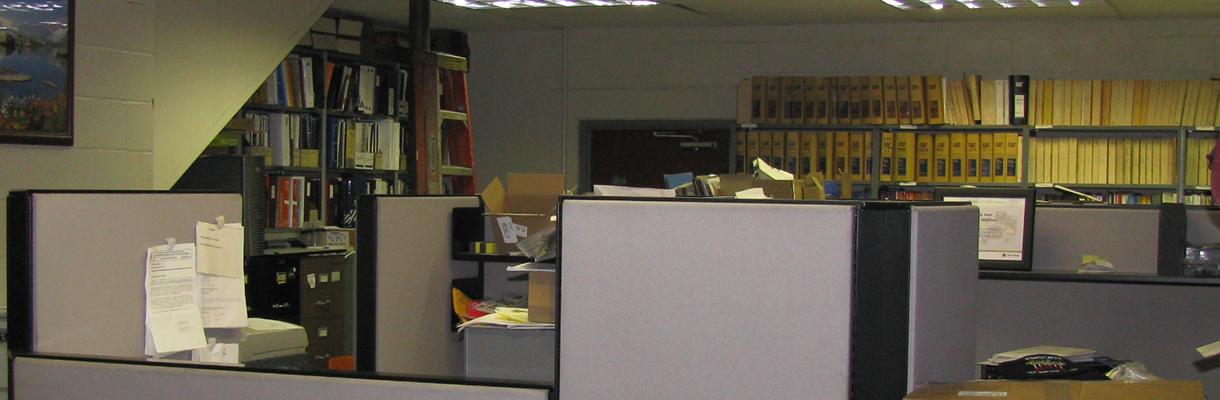 The main office at Rutt's Machine, Inc.