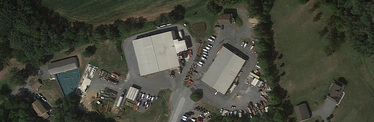 A top down view of our Machine Shop facility